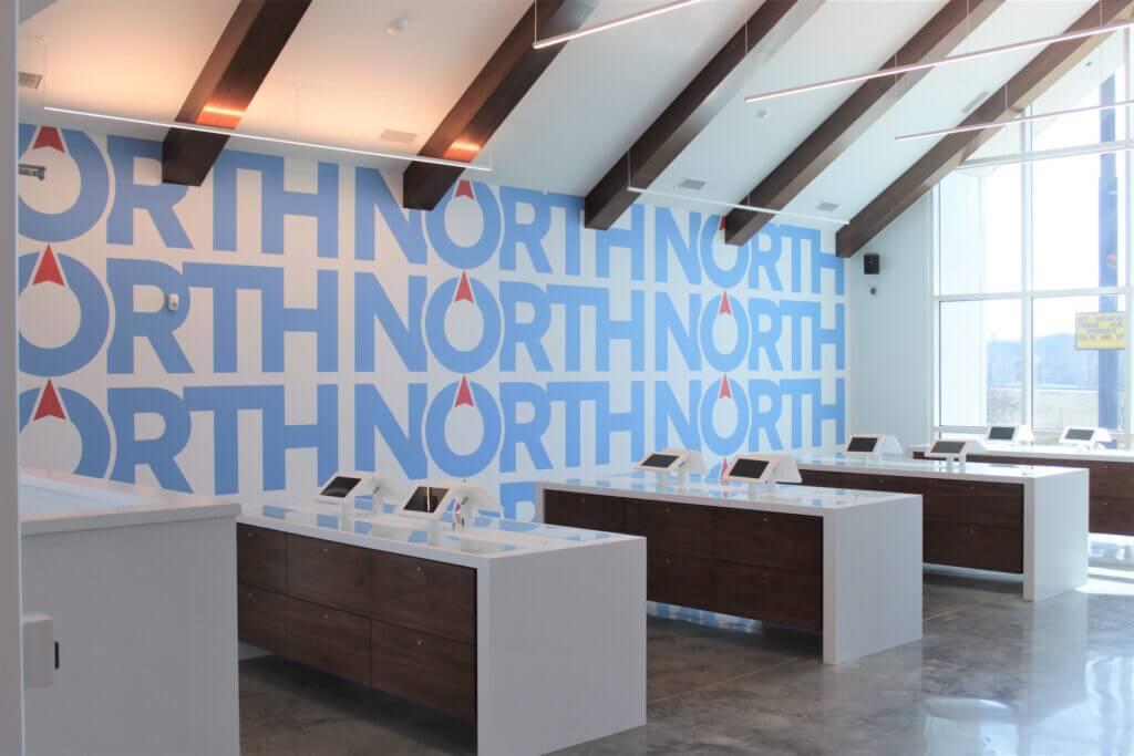 North Medical dispensary shop interior photo