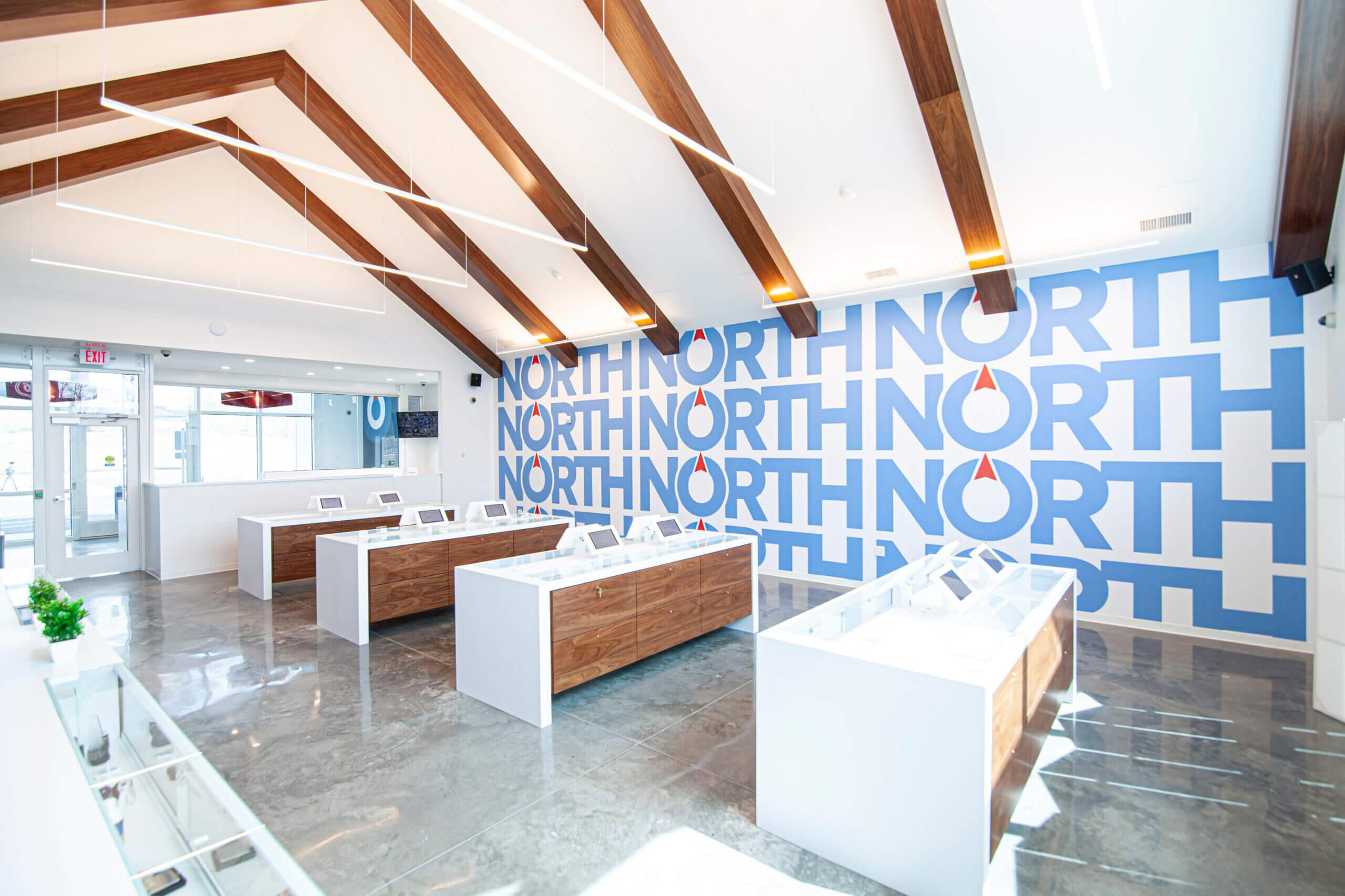 North Medical dispensary interior shop shot