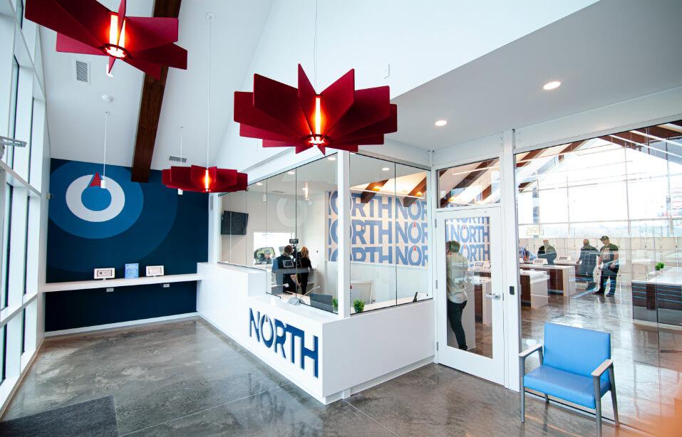 North Medical dispensary shop interior
