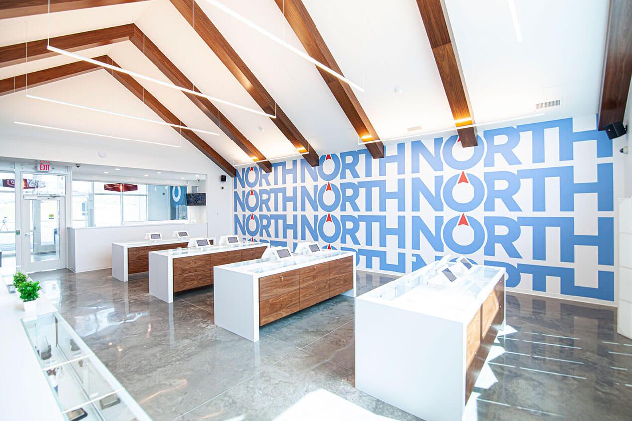 North Medical Cannabis store interior Hillsboro Missouri